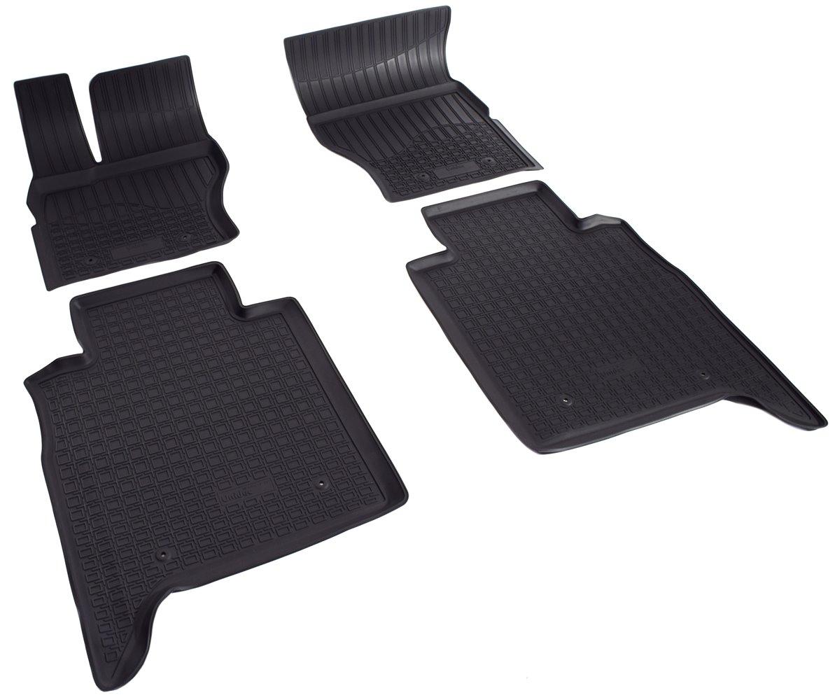 Коврики салона полиуретан черные Range Rover Vogue 2012 — L405