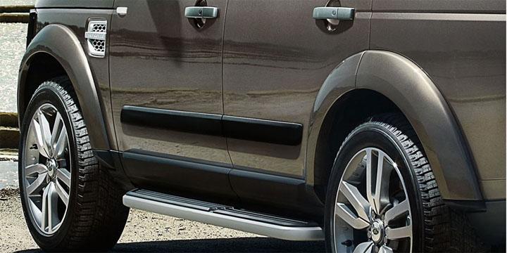 Накладки на двери Land Rover Discovery 3 / 4