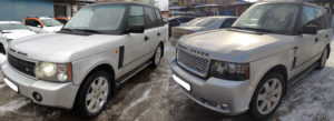 Рестайлинг Range Rover Vogue 2006 в Range Rover Vogue 2012 Autobiography