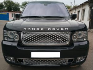 Рестайлинг Range Rover Vogue 2012 Autobiography  + замена стекол фар