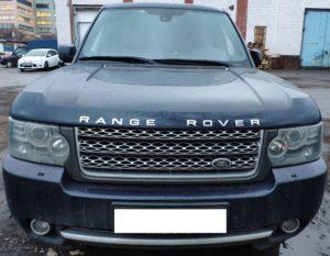Range Rover Vogue 2012 … Замена стекол фар, перекрас бампера, полировка …