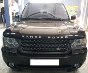 Range Rover Vogue 2012 — замена решетки.