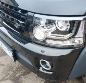 Рестайлинг фейслифт перед Land Rover Discovery 4