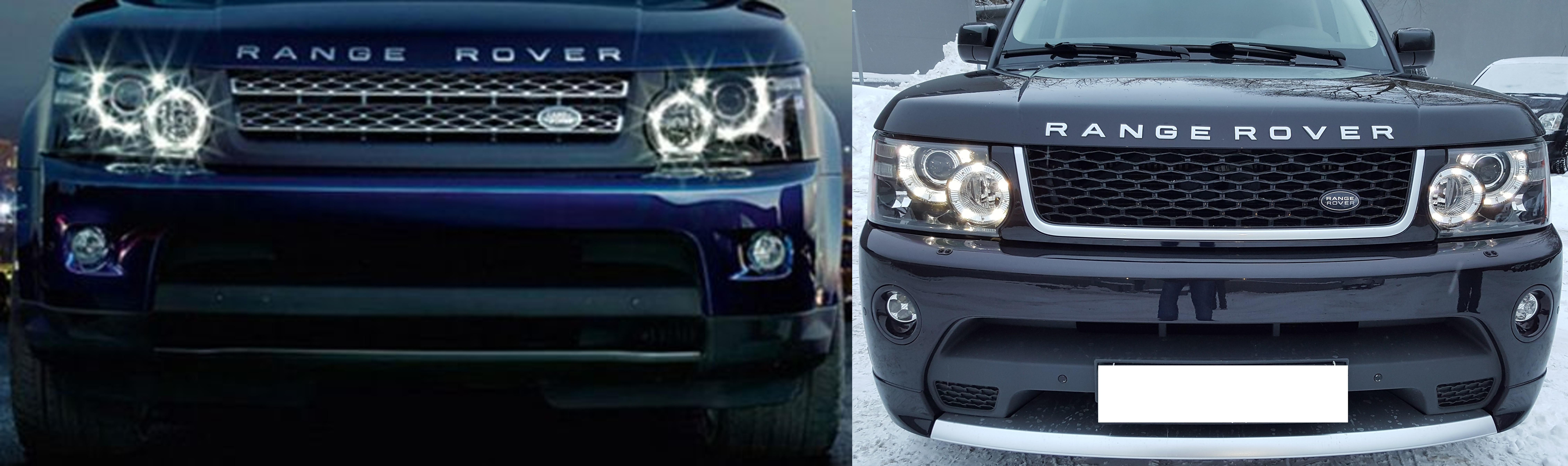 Передний бампер с решеткой Range Rover Sport 2010-2013 Autobiography