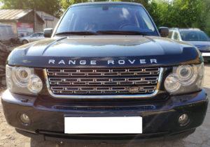 Решетка радиатора и жабры Range Rover Vogue 2006-2009