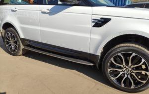 Range Rover Sport 2019 —  пороги и брызговики !
