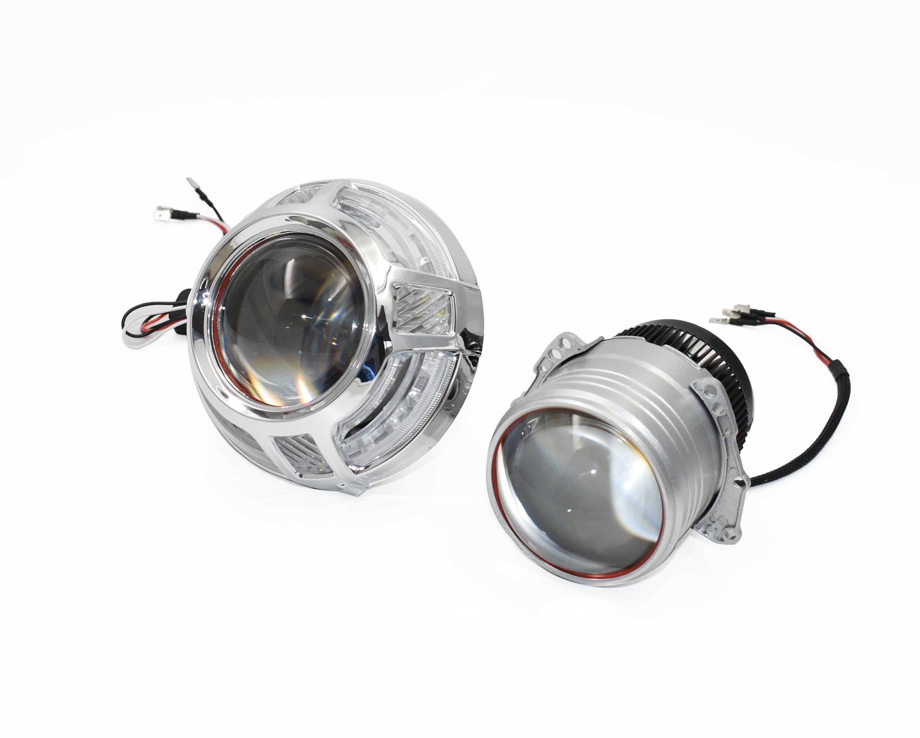 Би-Линза светодиодная SVS  IQ-Light 3.0-дюйма Direct injection  (58W/12V/5500K/8000Lm)