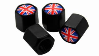 Колпачки ниппельные британский флаг