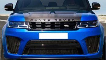 Рестайлинг тюнинг обвес Range Rover Sport 2019 SVR