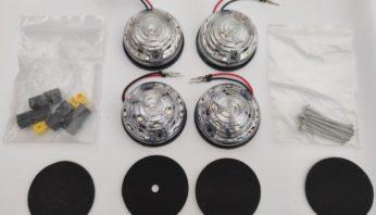 Фонари Land Rover Defender LED светодиодные  ( полный комплект )