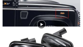 Динамические поворотники Land Rover Defender