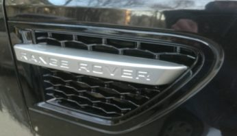 Жабры в крылья Range Rover Sport 2010-2013
