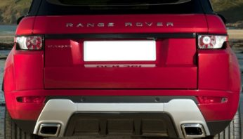 Бампер задний Range Rover Evoque Dynamic