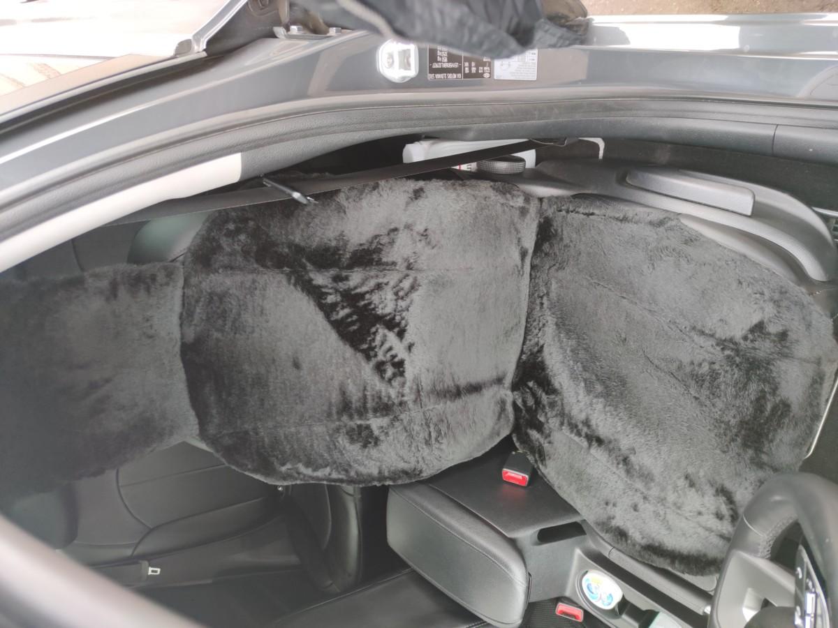Накидка мех меховая на переднее сиденье