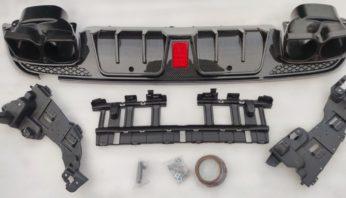 Диффузор brabus карбон Mercedes C W 205