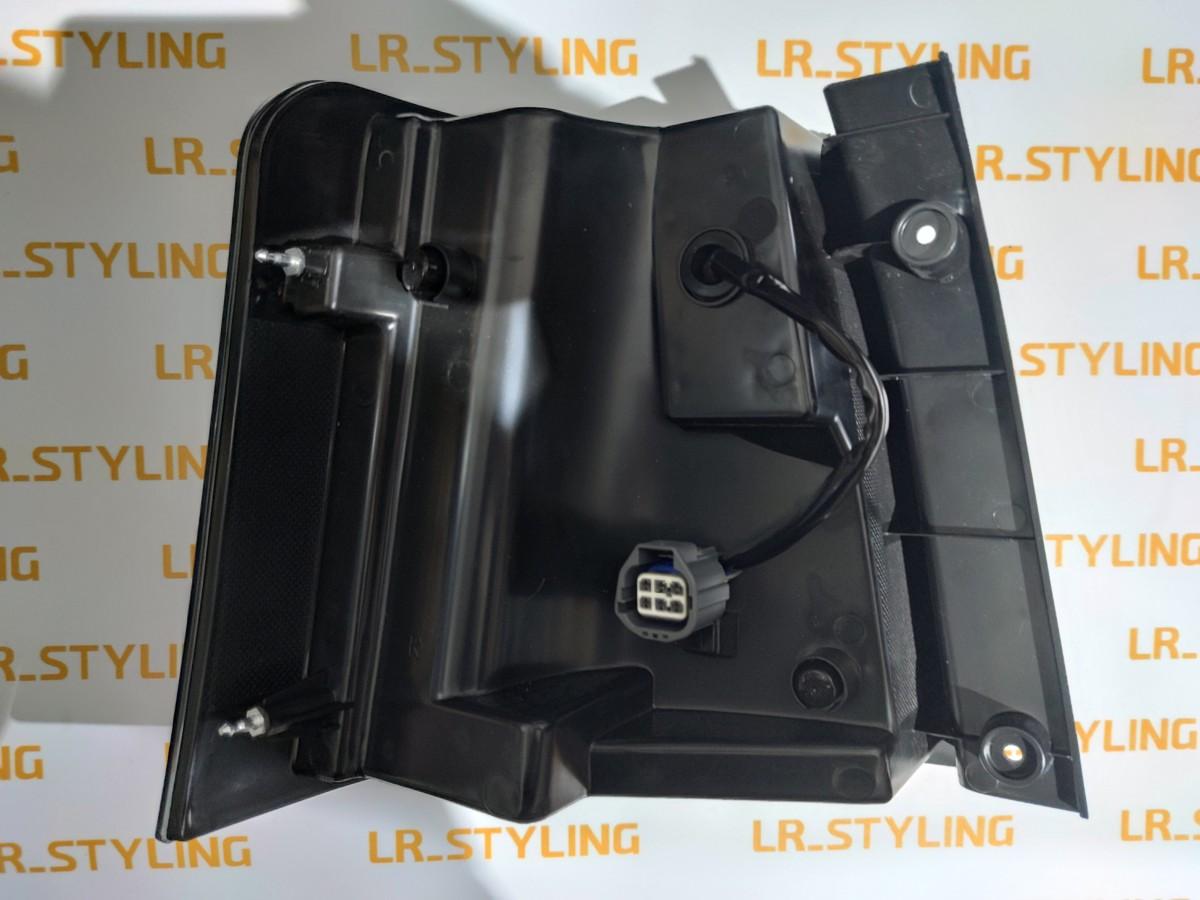 Задние фонари LED dynamic Range Rover Sport black