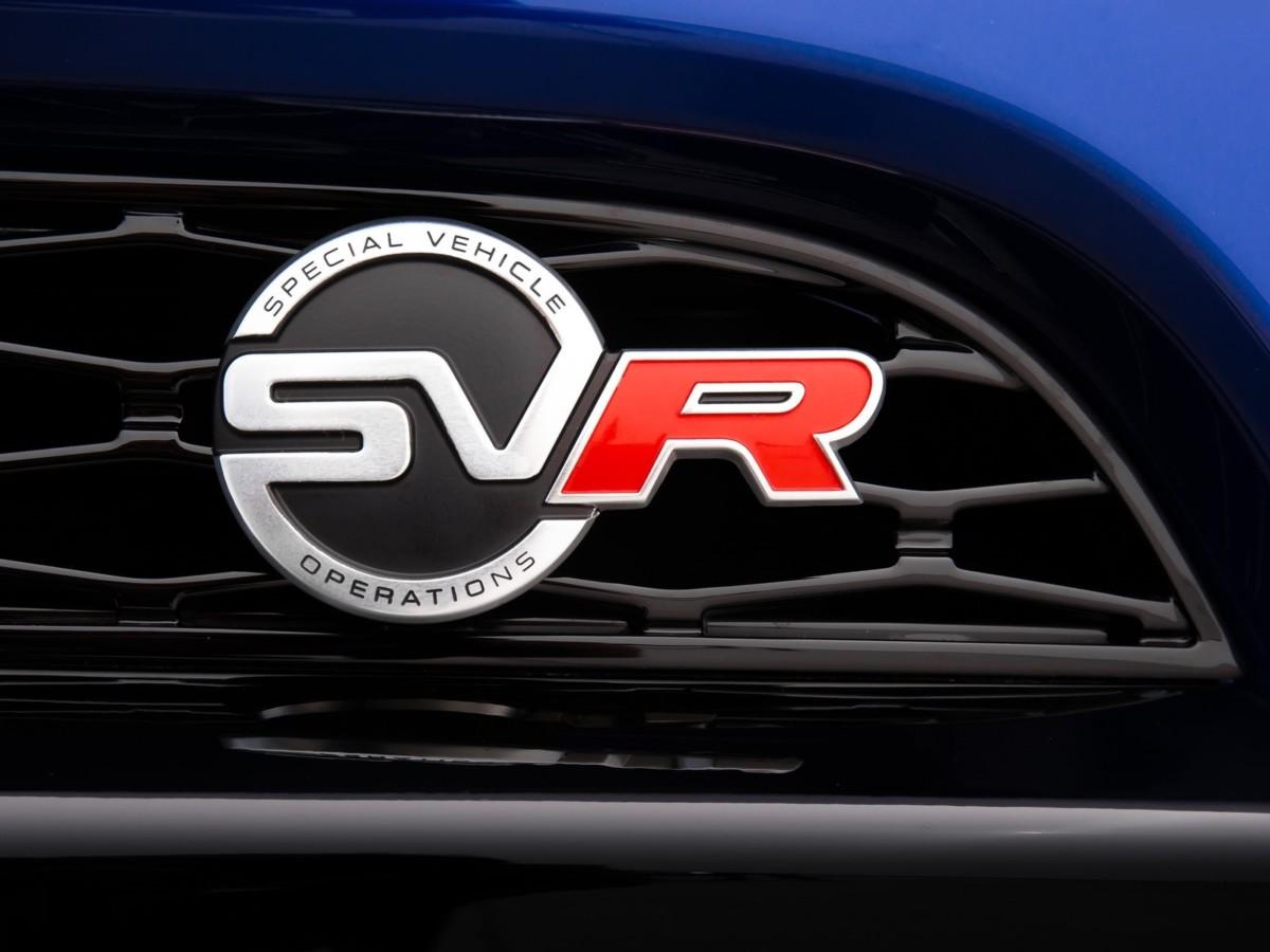 Шильдик эмблема Range Rover Sport L494 SVR