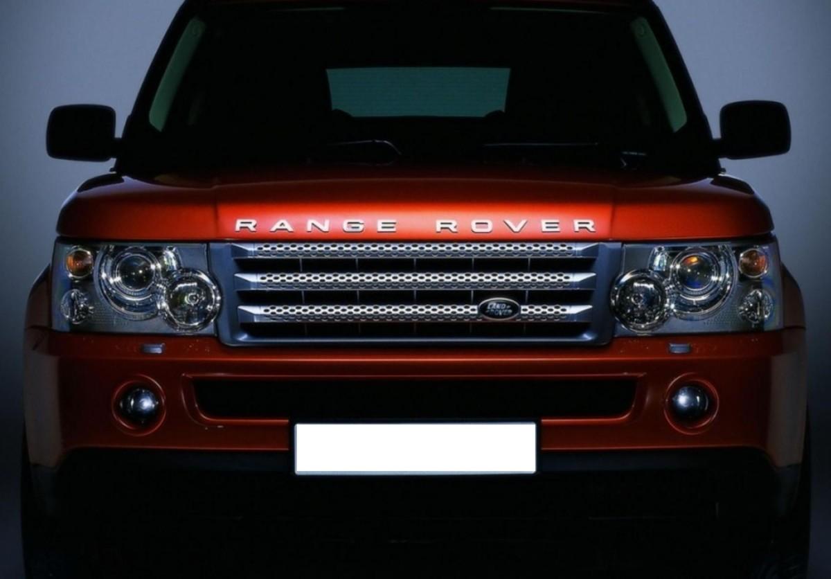 Стекло фары Range Rover Sport 2006-2009